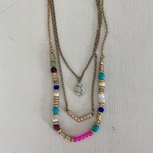 Premier Designs Gold Layer Necklace